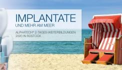 Implantate und mehr am Meer: Weiterbildungsreihe in Rostock