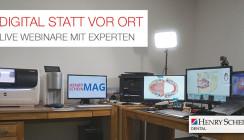 Live-Demos: Spezialisten von Henry Schein informieren virtuell
