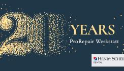 Henry Schein ProRepair-Werkstatt feiert 20-jähriges Jubiläum