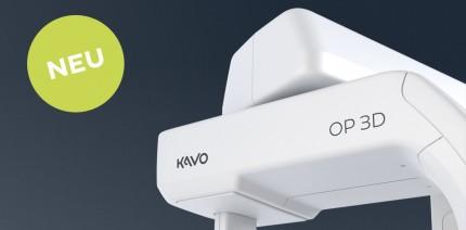 Der neue KaVo OP 3D. Der effizienteste Weg in die 3D-Röntgenwelt von KaVo
