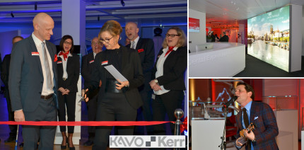 Die neue Welt von KaVo Kerr – Dental Experience Center eröffnet