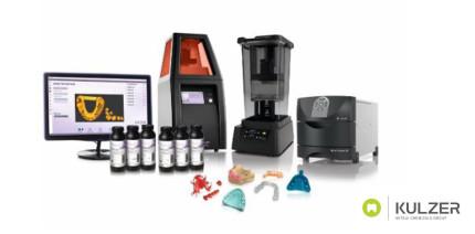 Kulzer erweitert sein 3D-Drucksystem mit neuen Materialien