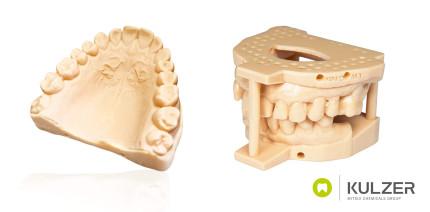 Kulzers dima Print Stone beige jetzt für Asiga® 3D-Drucker erhältlich