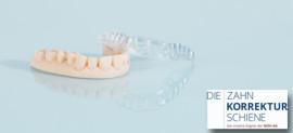 Die Zahnkorrekturschiene