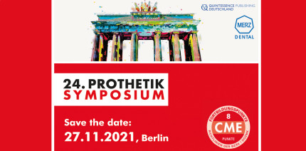 Save the Date: 24. Prothetik Symposium am 27.11.2021 in Berlin