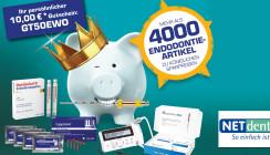 Endo-Woche mit königlichen Sparpreisen bei NETdental