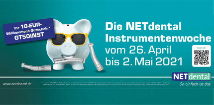Frühlingsfrisch: Sparpreise bei der NETdental Instrumentenwoche