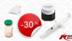 Aktion bei Nobel Biocare: Minus 30 Prozent auf alle creos Produkte
