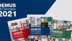 OEMUS MEDIAdaten-Trilogie für 2021 für Print, Online und Event