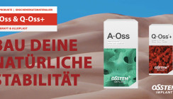 Knochenersatzmaterialien zur natürlichen Stabilität: A-Oss und Q-Oss+