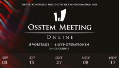 """Dentalkonferenz """"OSSTEM MEETING ONLINE"""" geht in die zweite Runde"""