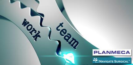 Neue Kooperation: Planmeca und Navigate Surgical Technologies