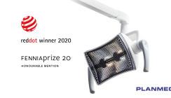 Planmeca Solanna™ Vision mit Red Dot Award ausgezeichnet