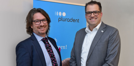 In die digitale dentale Zukunft: Pluradent stellt sich neu auf