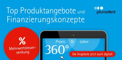 """Pluradent: zusätzliche Shop-Kategorie für """"360°-SALE"""" Angebote"""