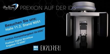 PreXion mit zwei Spitzenangeboten zur IDS 2021