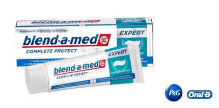 blend-a-meds beste Zahncreme COMPLETE PROTECT EXPERT überzeugt
