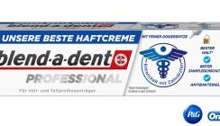 Für sicheren Halt: Die neue blend-a-dent Professional Haftcreme