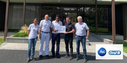 P&G spendet 400.000 Euro an die Feuerwehr in Euskirchen