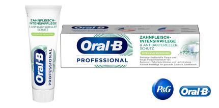 """NEU: """"Oral-B Professional Zahnfleisch-Intensivpflege & Antibakterieller Schutz"""""""