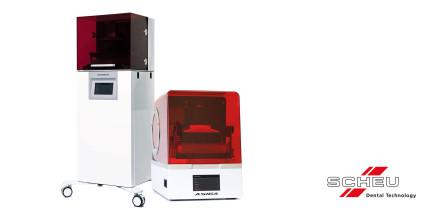 3D-Druckersortiment von SCHEU-DENTAL lässt keine Wünsche offen