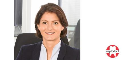 Sandra von Schmudde wird neue Geschäftsführerin bei Septodont