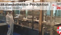 Erleben Sie die neue Produktionsanlage von Septodont in Virtual Reality