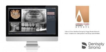 Dentsply Sirona Software überzeugt bei A'Design Award mit innovativem Design