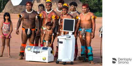 Dentsply Sirona unterstützt 15 indigene Dörfer mit Zahnbehandlungen