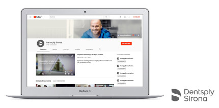 Dentsply Sirona auf YouTube: 2 Millionen Aufrufe