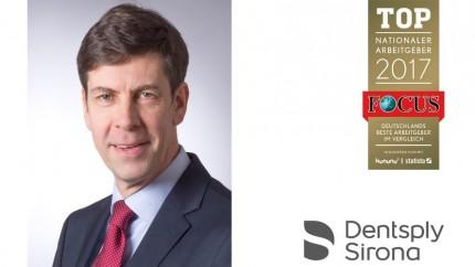 Dentsply Sirona zählt zu den Top-Arbeitgebern Deutschlands