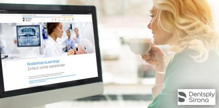 Dentsply Sirona bietet kostenlose Online-Beratungen und Webinare