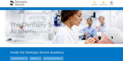 Dentsply Sirona: Viele Teilnehmer beim klinischen Fortbildungsprogramm