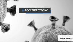 Straumann Group unterstützt Kunden kostenfrei mit Gesichtsvisieren
