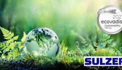 EcoVadis Silver-Rating Auszeichnung für Sulzer Mixpac