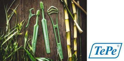 TePe Sortimentserweiterung für nachhaltige Mundhygiene