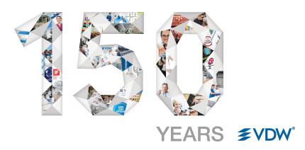 Mit Leidenschaft für Endodontie: VDW feiert 150-jähriges Jubiläum