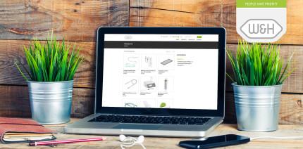 Willkommensrabatt sichern: W&H launcht neuen Online Shop