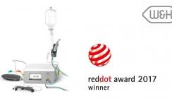 Red Dot Award: W&H punktet mit Design des neuen Implantmed