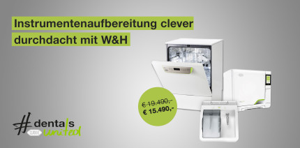RDG + Assistina TWIN: Sparen durch Hygiene-Workflow