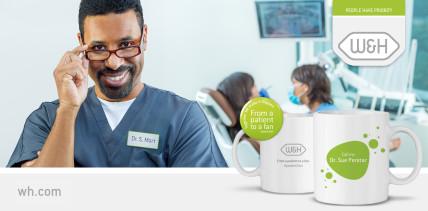 An die Tassen, fertig, los!  – jetzt Gratis-Mug von W&H sichern