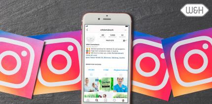 Instagram boomt: W&H launcht eigenen Account