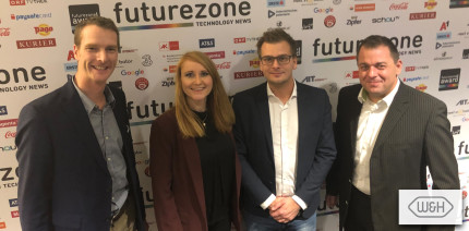 W&H beim FutureZone Award 2019 ausgezeichnet