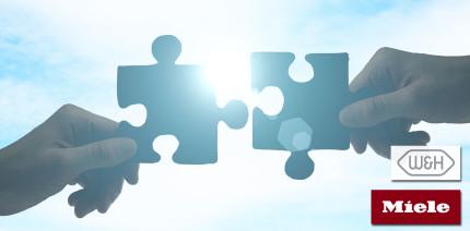 Wechselseitige Stärkung: Miele und W&H geben Kooperation bekannt