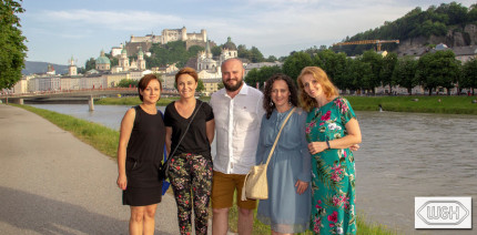 patient2fan-Gewinner von W&H entdecken Salzburg