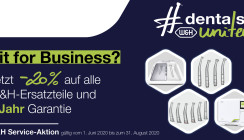 #dentalsunited-Kampagne: Fit for Business mit W&H