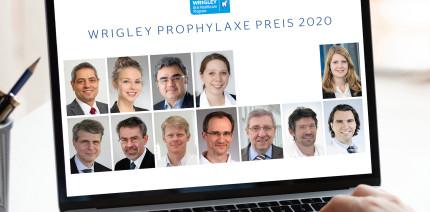 Dieses Jahr online: Wrigley Prophylaxe Preis 2020 verliehen