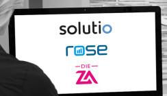 Langfristige Partnerschaft: solutio, rose GmbH und DIE ZA