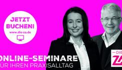 """""""Das haben Sie davon!"""": praxisnahe und vielfältige Online-Seminare"""