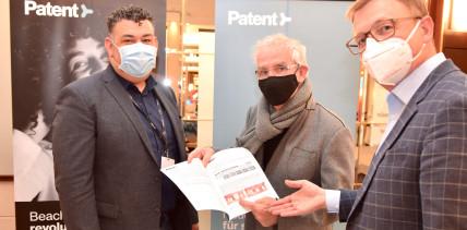 Prof. Hermann jetzt auch Patent™ Anwender